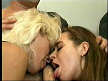 Deep throat busty amateur