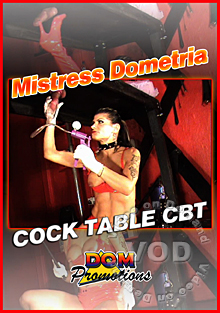 Dometria - Cock Table CBT