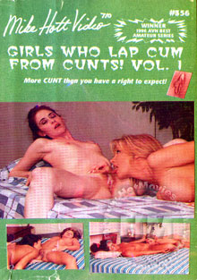 Girls Who Lap Cum From Cunts! Vol.1