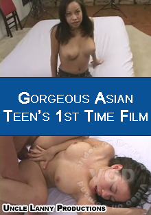 Gorgeous Asian Teen's 1st Time Film