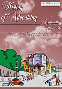 History Of Advertising Animation 1940-1950