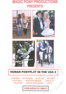 Human Ponyplay In The USA 2