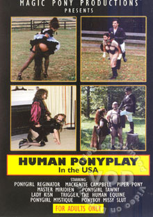 Human Pony Play In The USA