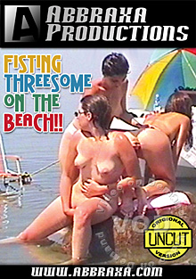 Fisting Threesome On The Beach