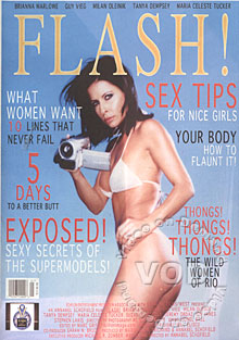 Flash! Stars: Tanya Dempsey, Brianna Marlowe, Guy Vieg, Milan Oleinik, Maria Celeste Tucker, Suzanna Urszuly, Jeremy Ordaz, Ion James, Stephen Lakis
