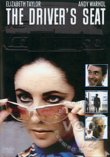 The Driver's Seat / Stars: Elizabeth Taylor, Guido Mannari, Andy Warhol, Ian Bannen