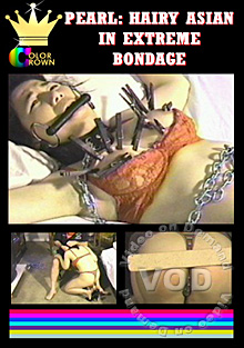 Pearl: Hairy Asian In Extreme Bondage