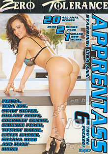 Apprentass 6 Stars: Stacy Silver, Patricia, Vanessa, Sharon Wild, Lucy Lee, Tera Joy, Anastasia Christ, Mark Wood, Chris Charming, Ben English, Joel Lawrence, Mr. Pete, Katja Kassin, David Perry, Vicky Vette, Gia Jordan, Steve Hooper, Pietra, Sascha, Claudia Bella, Lisa Ann, Dominica Leoni, Sharka Blue, Tommy Gunn, Hillary Scott, Lion, Courtney Cummz, Nikki Dark, Dillion, James Deen, Tiffany Rayne, Simone Style, Jasmin Tame, Jean-Claude Baptiste, Janet Jay