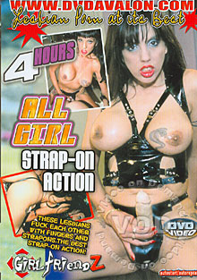 All Girl Strap-On Action