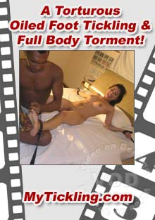 A Torturous Oiled Foot Tickling & Full Body Torment!