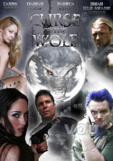 Curse Of The Wolf - Stars: Darian Caine, Pamela Sutch, Leon South, Brian Heffron, Lanny Poffo, Renee Porada