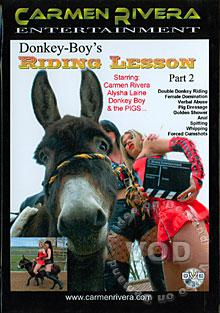 Donkey-Boy's Riding Lesson Part 2