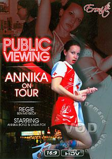 Public Viewing - Annika On Tour