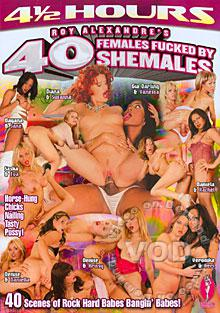 40 Females Fucked By Shemales